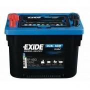 Exide EP450 DUAL AGM 12V 50Ah 450Wh 750A munkaakku és indítóakku