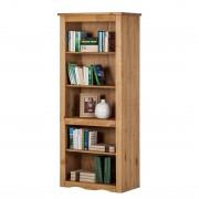 Boekenkast Finca Rustica - gewaxt massief grenenhout, Maison Belfort