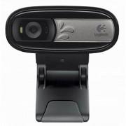 Logitech câmeras de vídeo em rede C170 HD portátil de mesa com microfone
