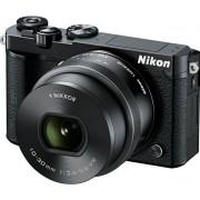 Aparat Foto Mirrorless NIKON 1 J5, cu Obiectiv 10-30mm VR PD-Zoom, Filmare Full HD, 20.8 MP, Wi-Fi (Negru)