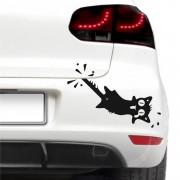 Sticker auto - Motan clandestin