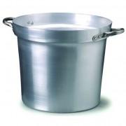 Pentoloni alluminio per salse bordo h.cm.33 lt. 35 dia.cm. 45