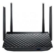 Router Wireless ASUS RT-AC58U, Gigabit, Dual Band, 1300 Mbps, 4 Antene externe (Negru)