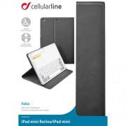 Husa Agenda Negru APPLE iPad Mini, iPad Mini 2 Cellularline