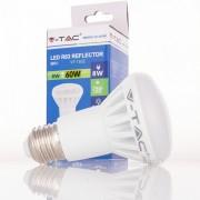 Lâmpada LED E27 8w»60W Luz Quente 500Lm R63 PROJETOR