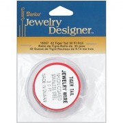 Tiger Tail Jewelry Wire 30ft/Pkg-Silver