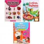 Activity Book Combo of Alphabets Picture - English Rhyme - All In One Writing