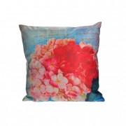 Párna huzat virágos textil 43x43cm színes II