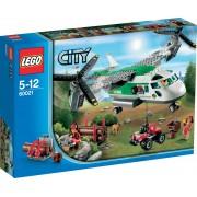LEGO City Hefschroef Vrachtvliegtuig - 60021