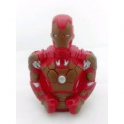 Iron man Figure Toy Piggy Coin Saving Money Bank Box for kids