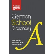 Collins Gem German School Dictionary by Collins Dictionaries