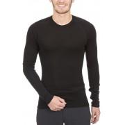 Icebreaker Everyday LS Crewe Shirt Men black 2017 L Langarm Shirts