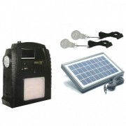 Kit Incarcator Urgente cu Panou Solar Radio FM USB MP3 GdLite GD8052