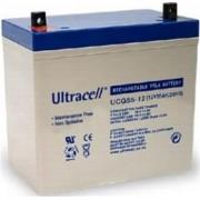 Bateria de Gel 12V 55A/h