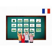 Tarjetas Educativas Francés - Terrain de jeux - Playground Flashcards in French