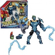 Hasbro Year 2015 Marvel Super Hero Mashers Upgrade Your Mash-Up Series 6 Inch Tall Action Figure - MARVEL'S WHIPLASH with 2 Whips Plus Hulk's Head and Right Hand