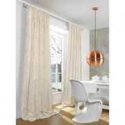 """Vorhang """"Tombre"""", 1 Vorhang, 130 x 280cm - Schlamm/Safran/Gold"""