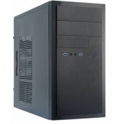 Chieftec HT-01B-OP - mATX-Tower Black