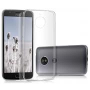Kwmobile Étui Tpu Silicone Élégant Et Sobre Pour Motorola Moto E4 Plus En Transparent