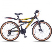 Hero Octane 26T Sioux 21 Speed Adult Cycle - Black