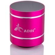 Boxa Portabila Adin Vibration Speaker MMDB1BTRZ, Bluetooth (Roz)