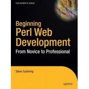 Beginning Perl Web Development by Steve Suehring