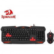 Kit tastatura si mouse Redragon S101-BK Gaming Vajra plus Centrophorus