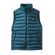 Patagonia Down Sweater Vest Men Deep Sea Blue XXL Daunenwesten