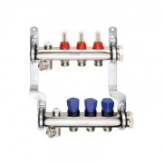 Distribuitor cu debitmetre REHAU HKV-D 1 tol - 9 circuite