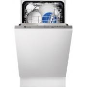 Masina de spalat vase Electrolux ESL4200LO, Complet Incorporabil, 9 Seturi, Clasa A, Latime 45 Cm, 5 Programe, 3 Temperaturi, Panou Comanda Gri