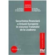 Securitatea Financiara A Ue In Viziunea Tratatului De La Lisabona - Dan Bucur Alina Bica