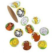 Rimobul Funky Zoo Animal Roll Stickers (2 Rolls)