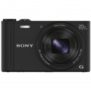 Sony WX350 18 MP Digital Camera (Black)