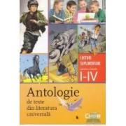 Antologie de texte din literatura universala clasa 1-4