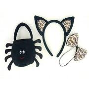Black Spider Bag Accessories Teddy Bear Clothes fit Build a Bear Teddies
