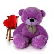 Super Giant 7 Feet Purple Bow Teddy Bear Soft Toy