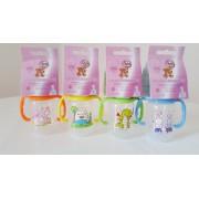 1 db 125 ml-es BPA-mentes Baby Bruin polipropilén fogantyús cumisüveg + Ajándék