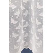 Fehér jaquard függöny leveles 484 méterben/0016/Cikksz:011400200