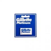 Gillette lame per rasoio platinum 1 confezione da 5 lamette