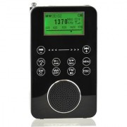 Degen DE1131 4-in-1 Touch Screen Controlled Portable AM/FM/SW Digital Radio MP3 Player with Built-in 4GB Flash Memory and Micro-SD Card Reader Voice Recorder & E-book Reader