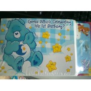 Care Bears Boys First Birthday Invitations - 8 Count