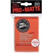 50 Ultra Pro Pro-Matte Peach Deck Protector - Mat - Non-Glare Matt - Magic