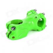 Tubo de aluminio manillar de la bicicleta Jefe de Fixed Gear Bike - Verde