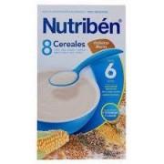 NUTRIBÉN 8 CEREALES CON GALLETAS MARIA 600 G