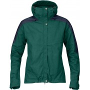 FjallRaven Skogsö Jacket Women - Copper Green-Dark Navy - Freizeitjacken XS