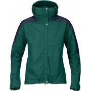 FjallRaven Skogsö Jacket Women - Copper Green-Dark Navy - Freizeitjacken XL