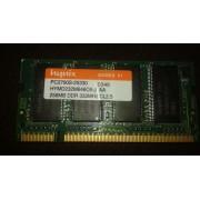 256MB 200p PC2700 CL2.5 8c 16x16 DDR333 2Rx16 2.5V SODIMM