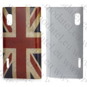 LG Optimus L5 E610 (калъф пластик) Flag Style