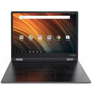 Lenovo Yoga Book A12 WiFi GPS BT4.0, x5-Z8550 up to 2.4GHz QuadCore, 12.2 IPS 1280x800, 2GB DDR3, 32GB flash, 2MP + HD cam, MicroSD up to 128GB, USB 3.0 Type-C, Sensor keyboard, Dolby Atmos, 13 hours battery life, Android 6.0.1 Marshmallow, Gunmetal