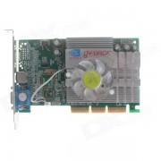 NVIDIA GeForce FX5200B 256M AGP 8X Graphics Card - Green + Silver